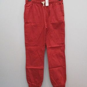 🟥$4 Children's Place Red Joggers Size 16 NWT